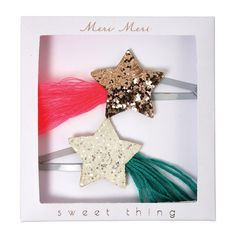 Shooting Star Hair Clips By Meri Meri