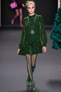 Anna Sui Fall 2013 Ready-to-Wear Fashion Show