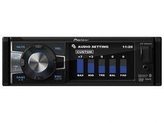 """DVD Automotivo Pioneer DVH-8880AVBT Tela 3,5"""" - Bluetooth 92 Watts RMS Entrada para Câmera de Ré com as melhores condições você encontra no Magazine Raimundogarcia. Confira!"""
