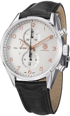 Tag Heuer men watches : Tag Heuer Carrera Men's Automatic Chronograph Watch CAR2012.FC6235