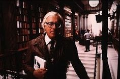 "Ray Bradbury. ""Living at risk is jumping off a cliff and building your wings on the way down."""