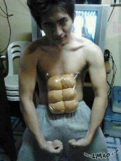 Will this make you laugh? Nice abs | #abs, #nice, #awesome, #funny