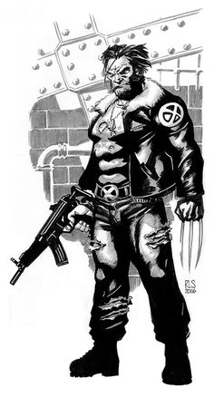 Logan from '06 by Ron Salas