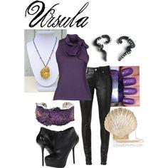 """""""Disney Fashion - Ursula"""" by @ColoradoMoms.com"""