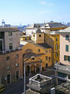 iSEGRETIdeiVICOLIdiGENOVA: le CHIESE di GENOVA Santissima Trinità e San Benedetto al Porto (foto di Antonio Figari)