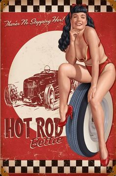 http://www.garageart.com/images/prods/15759.jpg Love this image, I may have to order the sign!