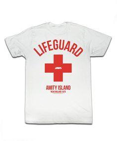 White 'Lifeguard' Tee - Toddler & Kids