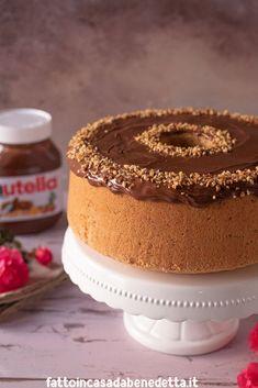 Delicious Cake Recipes, Yummy Cakes, Dessert Recipes, Torta Chiffon, Chocolate Chiffon Cake, Glaze For Cake, French Cake, American Cake, Cake Topper Tutorial
