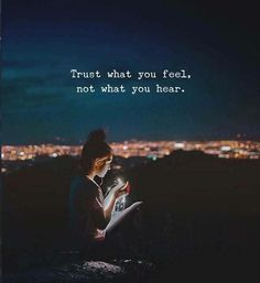 Trust what you feel.. via (http://ift.tt/2tkqZOd) (Beauty Soul)