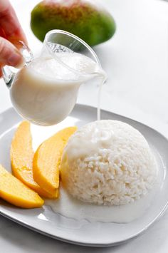 Mango Sticky Rice | Food Recipes HQ
