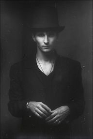 This portrait shows a seemingly more gentlemanly (Possibly dark) side of this man. Portrait Inspiration, Character Inspiration, Nocturne, Party In Berlin, Foto Fun, Dark Circus, Famous Photographers, Male Poses, Human Art