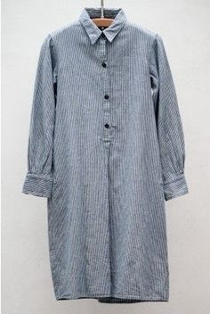 designer fashion ddb37 da547 Railroad Stripe Shirt Dress — Indigo Tamaño Extra, Jaja, Zapatos De Vestir,  Zapatos