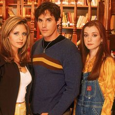 Your Scooby Gang wasn't nearly as cool as these guys.   Reasons Buffy Made Your Adolescence Seem Just Plain Uneventful