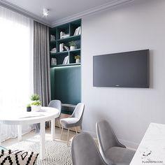 ULTRA_CITY on Behance Home Design Decor, Condo Design, House Design, Interior Design, Home Decor, Small Condo Living, Kitchen Room Design, Interior Architecture, Small Spaces