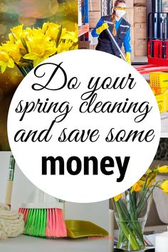What would you do with money you saved while spring cleaning? I've always saved it. Here's how you can do that saving too.