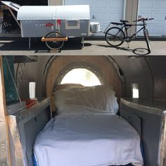 Micro camper/ mountain bike camper