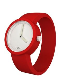 Gummy watch in red