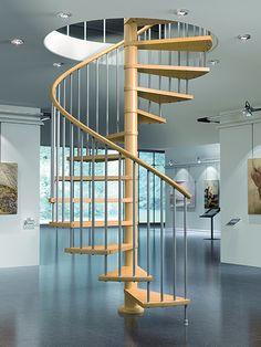 Escalera de caracol VIP de Maydisa. www.maydisa.com