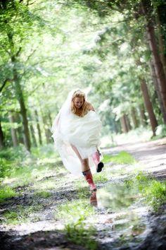 Trouwfoto van Eline Blok Fotografie op www.huwelijk.nl