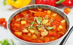 Zupy | AniaGotuje.pl Thai Red Curry, Ethnic Recipes, Karma, Food, Meals