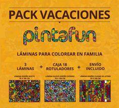 Pintafun, colorea en familia