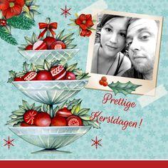 Kerst standaard vintage, verkrijgbaar bij #kaartje2go voor €