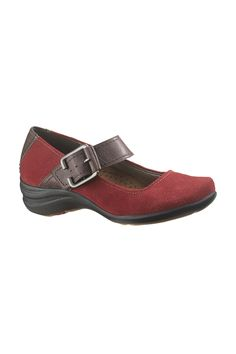 Hush Puppies Elias Shoes In Dark Red Suede - $69.99 http://www.beyondtherack.com/member/invite/B4736765