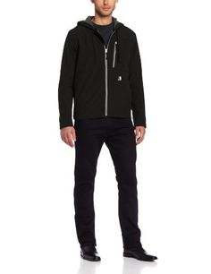 Carhartt Men's Big & Tall Soft Shell Hooded Jacket Ripstop,Black  (Closeout),X-Large Carhartt ++ You can get best price to buy this with big discount just for you.++