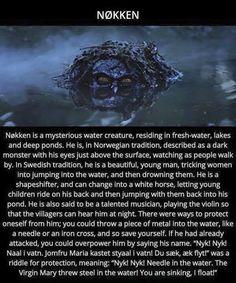 Sweeden Myths & Monsters, Creepy Stories, Ghost Stories, Horror Stories, Creepy Facts, Legends And Myths, Urban Legends, Mythological Creatures, Norse Mythology