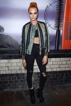 Cara Delevingne At Kachette For Rimmel London As Their New Ambassador - November 09, 2016