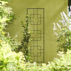 Shop Garden Treasures 12 In W X 48 In H Black Zen Garden Trellis