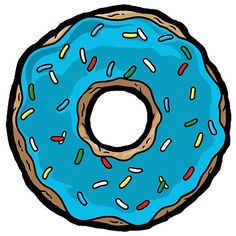 Blue Donuts.