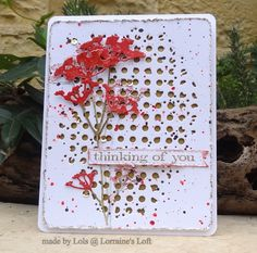 Lorraine's Loft: Simon Says Stamp Monday 'Thinking Of You' Challenge