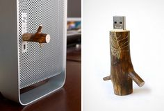 Wooden USB Stick by OOOMS