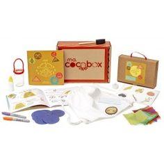 Summer Camp Macocobox  www.macocobox.com  Box créative pour enfants, ateliers DIY, bricolage, créativité, kids, peinture, summer camp