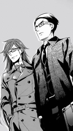 Grell and William - Black Butler - Kuroshitsuji