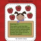 I recently used this center in my first grade class and the kids loved it! It's an apple themed math center focusing on double digit addition witho...
