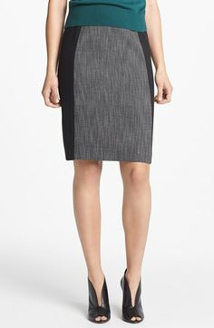Halogen® Seamed Pencil Skirt (Regular & Petite) available at #Nordstrom BUSINESS STYLE