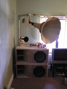 links to webpages with pictures and descriptions of Audio Systems with hornspeakers - Page 58 - Audio Voice Acoustics