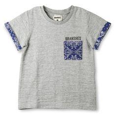 バンダナポケット半袖Tシャツ