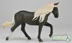 CollectA horse Rocky Mountain Mare Chocolate www.minizoo.com.au
