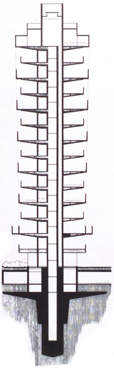 Gallery Of AD Classics: SC Johnson Wax Research Tower / Frank Lloyd Wright    18. Racine WisconsinFrank ...