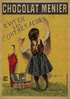 Chocolat Menier by Firmin Etienne Bouisset Giclee Print