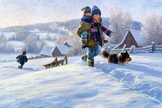 Роберт Дункан. Зимние радости. Часть- 2. | Записи AЯT (Искусство) | УОЛ
