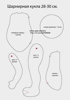 molde de bonecas waldorf - Pesquisa Google