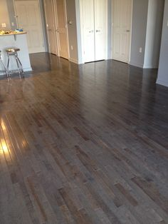 Gray is a perfect neutral to complement your home's style! [Pewter Maple | Flooring Trends 2015]