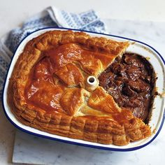 Steak, Kidney, Ale and Mushroom Pie recipe-steak recipes-recipe ideas-new recipes-woman and home