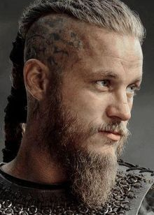 Ragnar Lothbrok from Vikings tv show