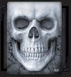 Vintage Skull Drawing For Photo Transfer Thanks A