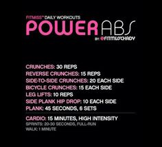 did something like this when i was working out fresh outta high school. its a great routine and it WILL shred ur abs.